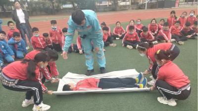 城阳京口小学安全应急体验活动专场来啦