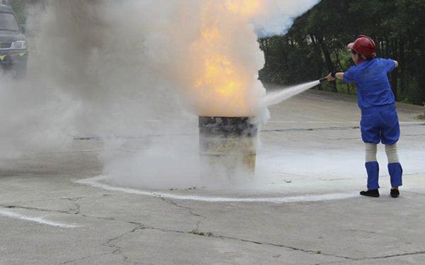 加油站消防疏散演练