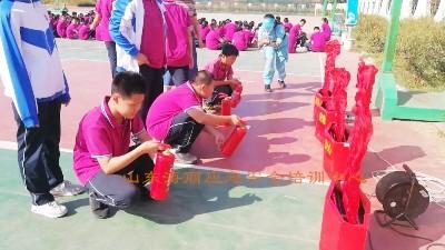 胶州市第二十六中学开展学生安全培训
